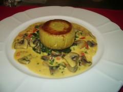 牡蠣の焼きムース