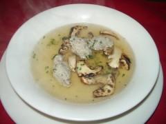 松茸スープ